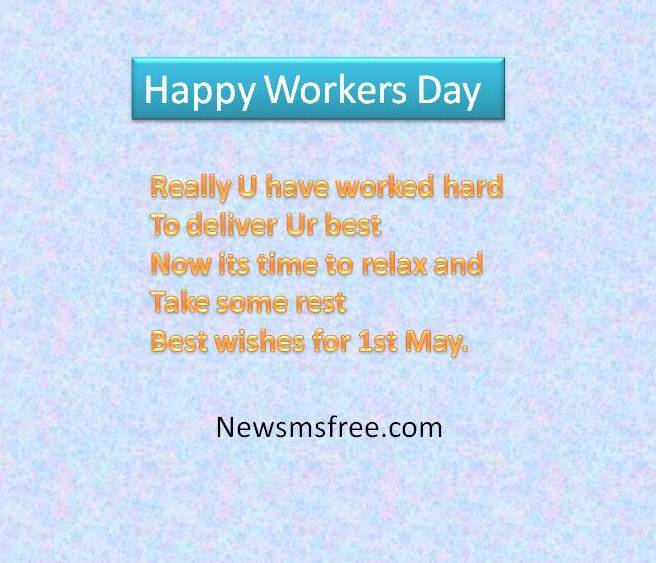 Labour's day sms, wishes,Quotes, Labor sms