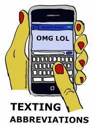 Funny Abbreviation Sms & Text Messeges