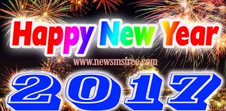 Happy New Year 2017 Whatsapp Status, Wishes SMS Images & Quotes