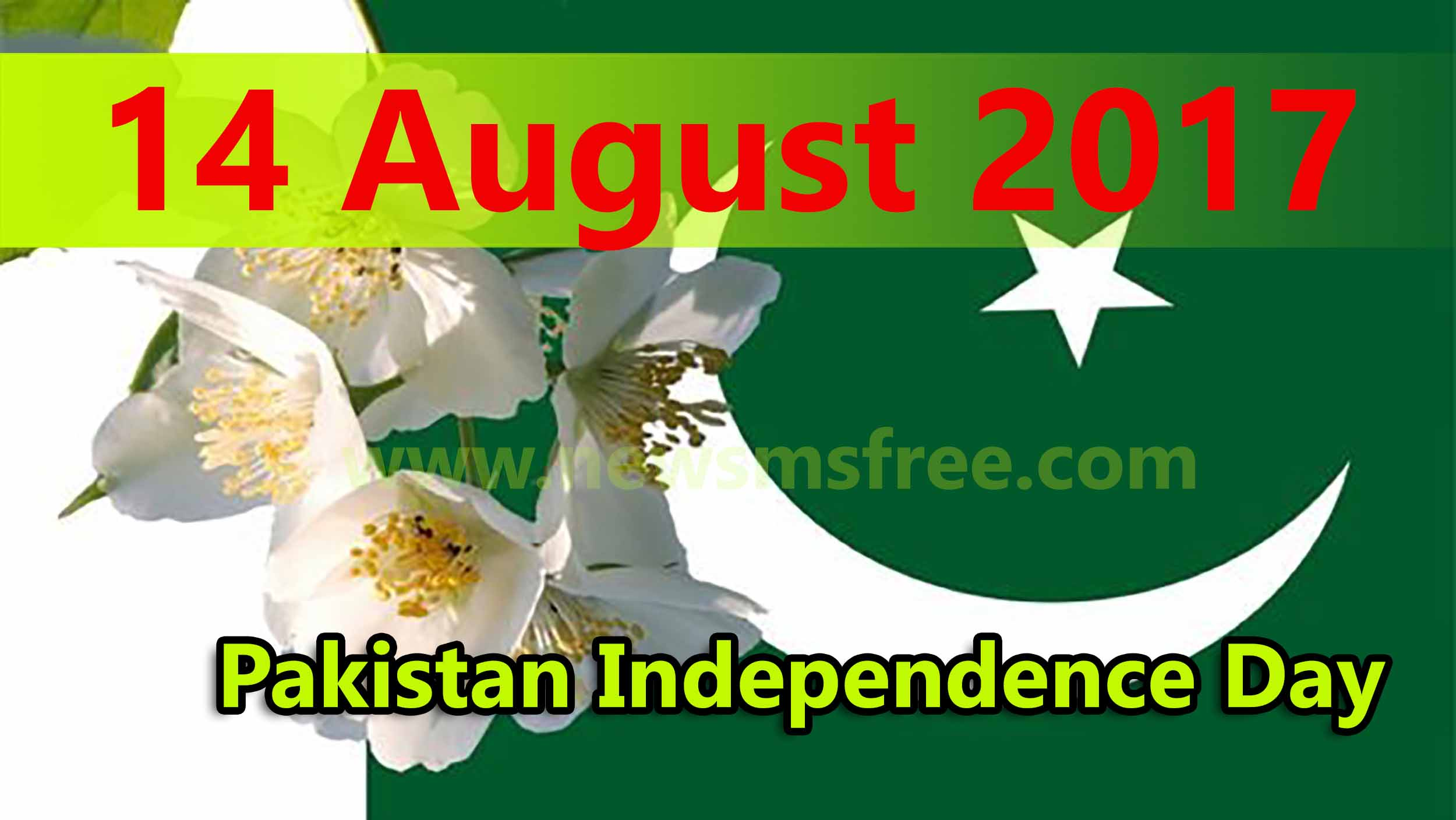 14 August 2019 Pakistan Independence Day Text Sms Greetings Wishes