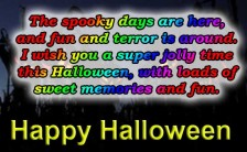Best Happy Halloween SMS Text Messages Wishes, Greetings, Quotes